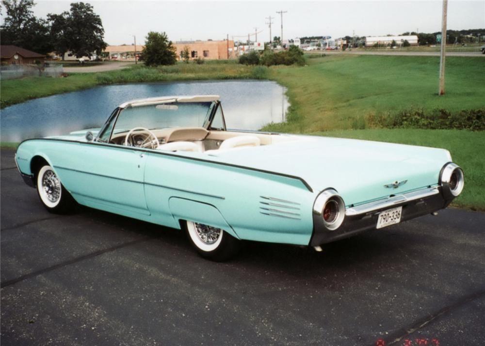 1961 FORD THUNDERBIRD CONVERTIBLE – Barrett-Jackson Auction Company – World's Greatest Collector Car Auctions