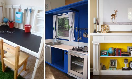 Furniture Makeovers Before And After Play Kitchen Diy Play