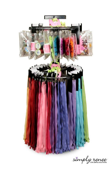 Organize Sewing Notions Threads And Zippers Etc This Way