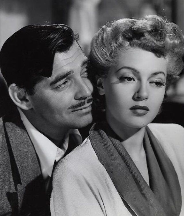 1942 Clark Gable And Lana Turner In Somewhere I Ll Find You Lana Turner Clark Gable Movies Hollywood