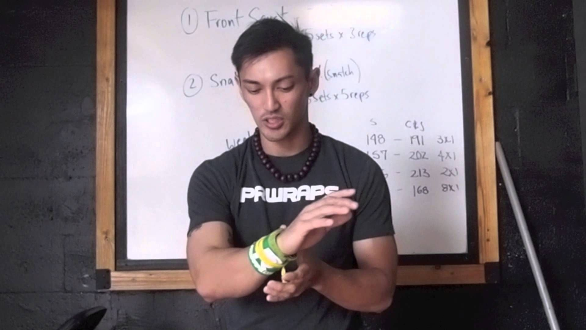 Sean explains how to properly put on your PR Wraps for maximum support and…