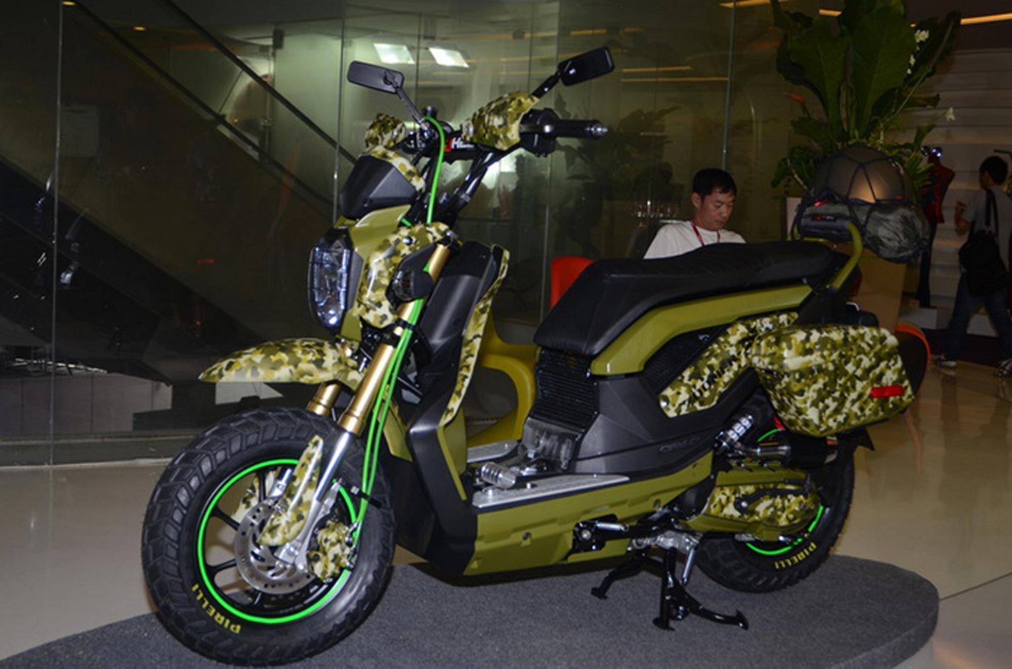 2013 Honda Zoomer X Green Modifications Motorcycles Pinterest All New Cb 150r Streetfire Stallion Black Kab Semarang