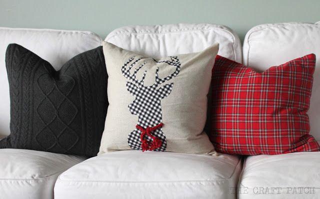 Diy Christmas Pillows Diy Home Decor Christmas Christmas Pillow