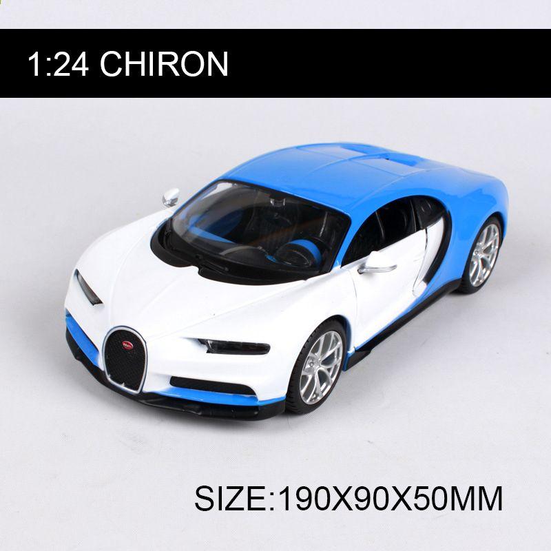 Bburago 1 18 Bugatti Chiron Diecast Metal Model Roadster: Maisto 1:24 Chiron Diecast Model Samochodu Stopu Model