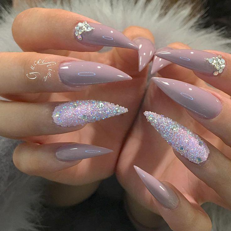 Pin by Nicole Payano on Fierce nails   Pinterest   Nail nail, Curved ...