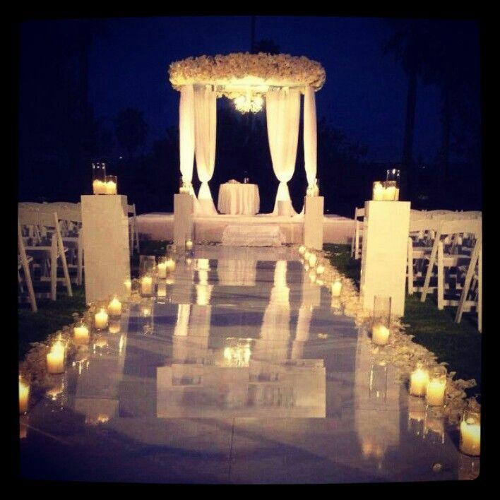 Stylish Wedding Ceremony Decor: Unique Wedding Decor, Ceremony