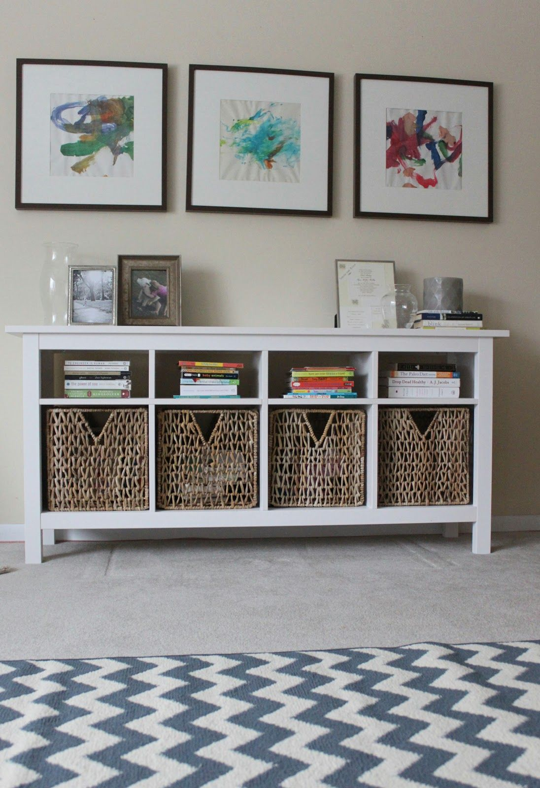 Use hemnes sofa table as media center below wall mounted flat sofa table styling geotapseo Images