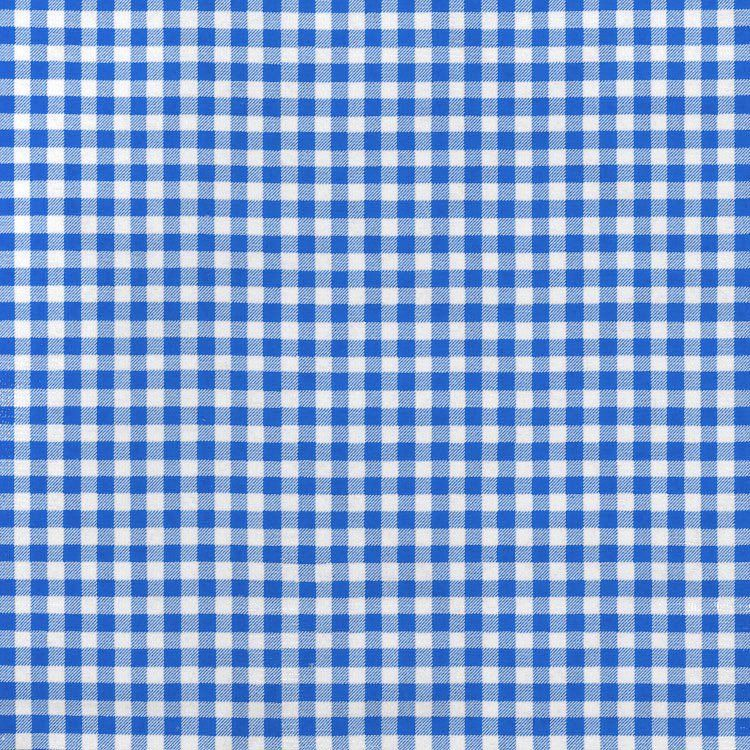 """Blue 1/4"""" Gingham Oilcloth Fabric in 2020 Fabric"""