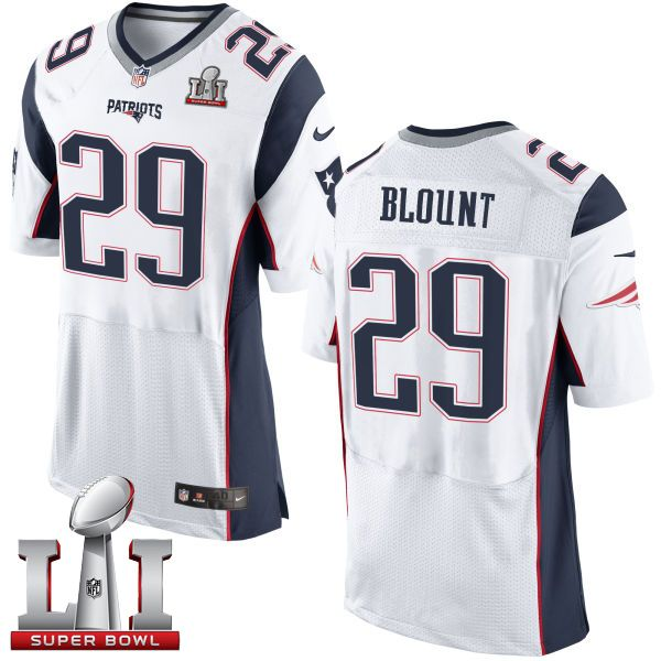 nfl jerseys youth Nike Patriots LeGarrette Blount White Super Bowl LI 51  Men s Stitched NFL New Elite Jersey 4d66c0d9b