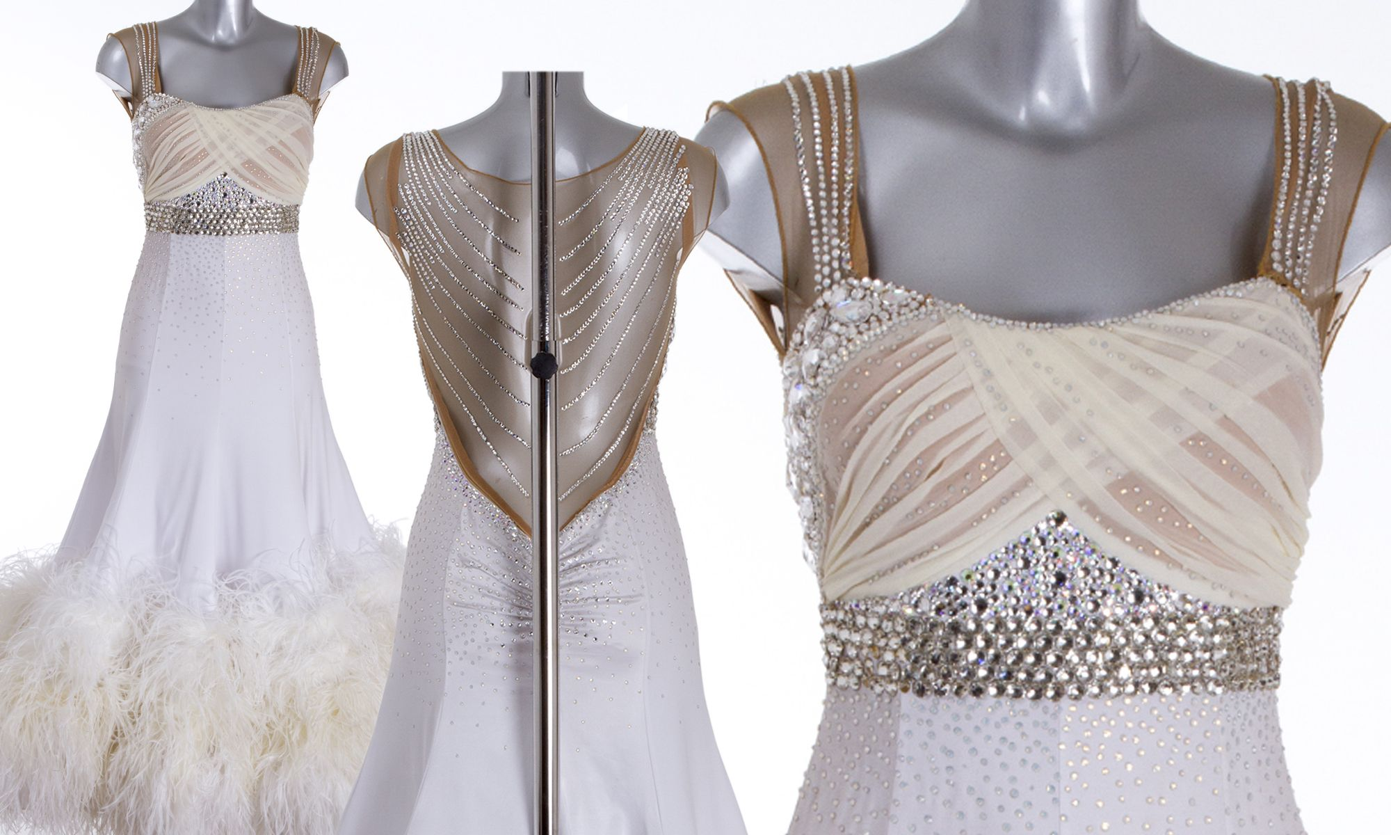 Janette manrara wedding dress  As worn by Katie Derham Strictly Come Dancing Week   DSI London