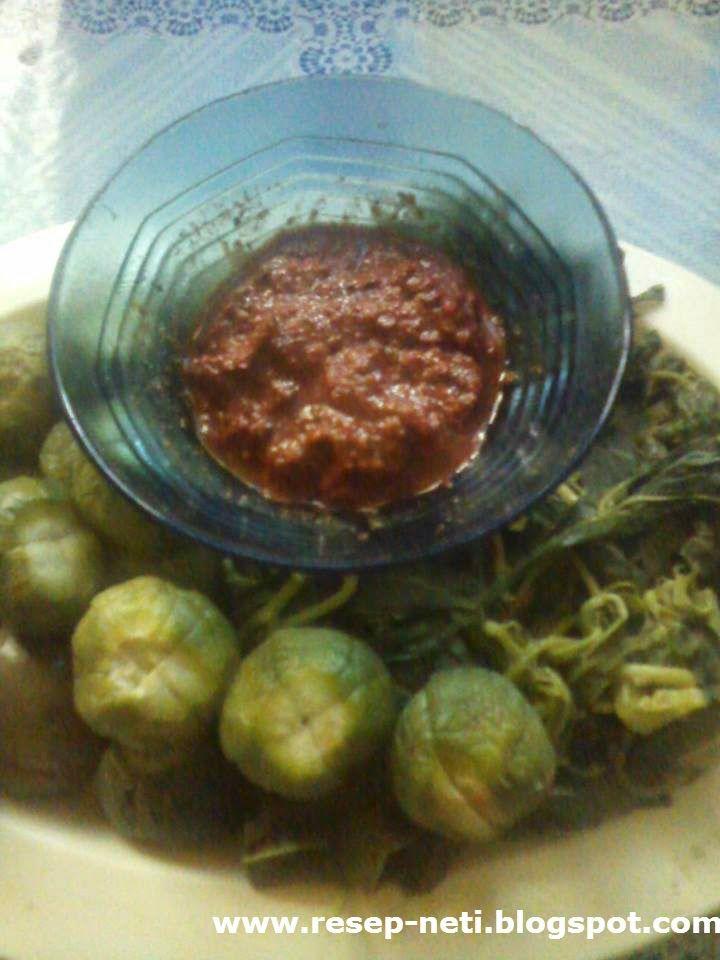 Resep Sambal Terasi Rumahan Homemade Chili Recipe With Shrimp Paste And Vegetables Stew Resep Masakan Kusneti Resep Makanan Resep Udang Resep Masakan