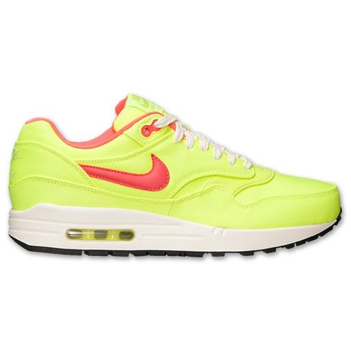 new styles ec284 d19c4 Zapatillas Nike Air Max 1 Premium Hombre Verde Limao   Punzón Hiper   Marfil    Negro,Stylish trainers hot sale with 80% off right here.
