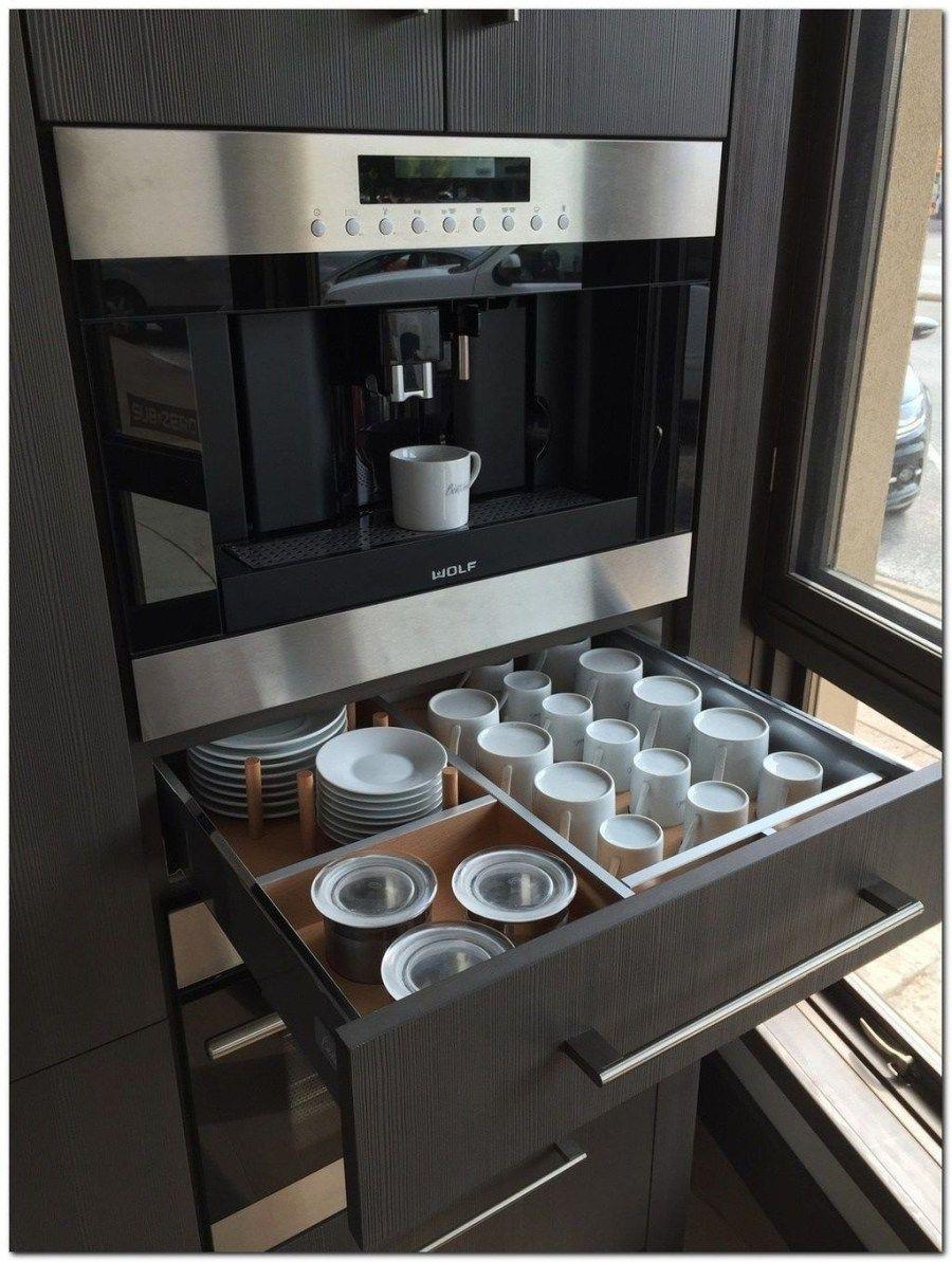 48 inspiring kitchen storage design ideas pimphomee in 2020 galley kitchen remodel built in on kitchen organization layout id=41256