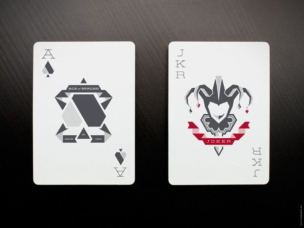 Fanangled A Modern And Geometric Playing Card Design Playing
