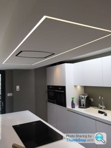 Installing Led Strip Lighting Help Page 1 Homes Gardens And Diy Pistonhea Illuminazione Controsoffitto Illuminazione Led Soffitto Illuminazione Soffitto