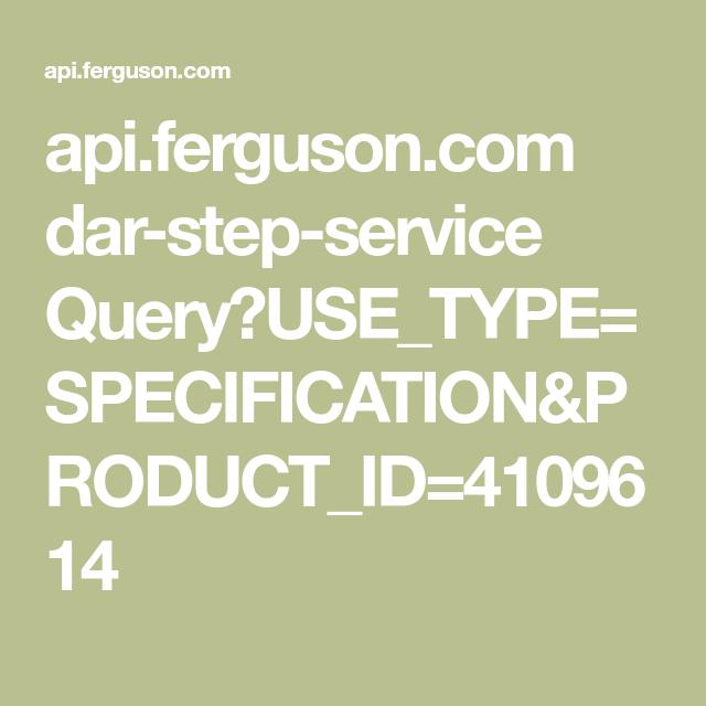 Api Ferguson Com Dar Step Service Query Use Type