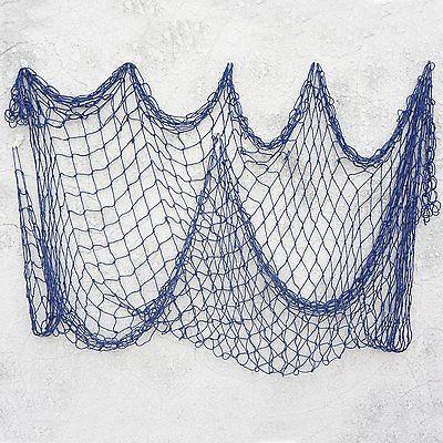 Bilipala decorative fish netting fishing net decor ocean for Decorative fishing net