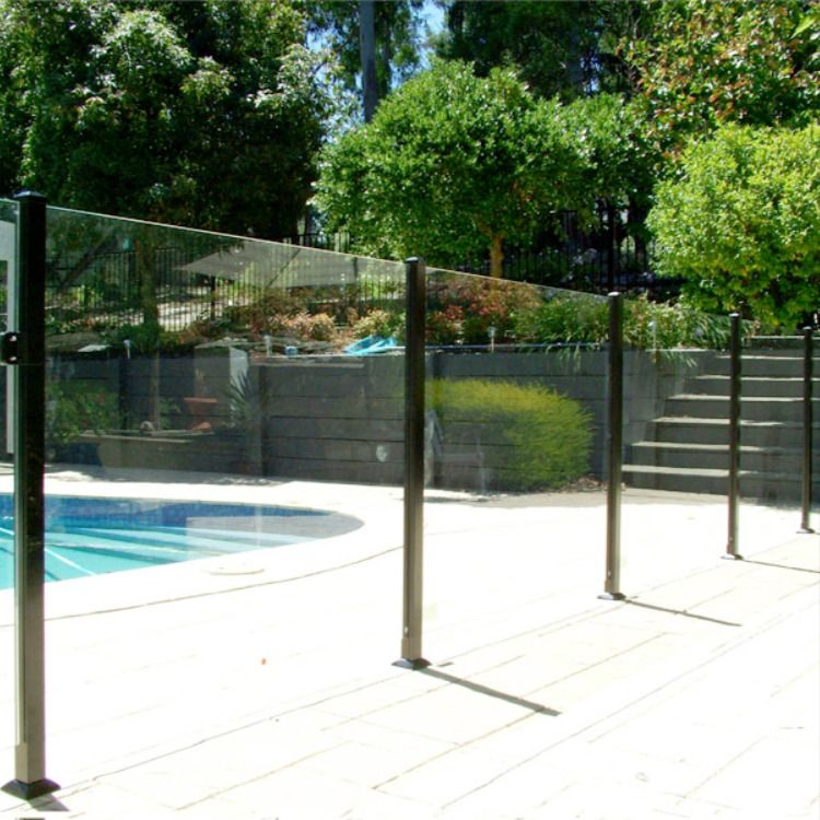 Frameless Glass Proof Fencing In Brisbane Glass Pool Fencing Pool Fence Glass Pool