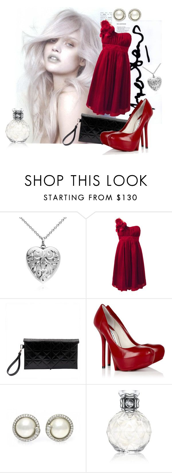 """Sem título #227"" by suellenspinola ❤ liked on Polyvore featuring Dansk, Fever, Gareth Pugh, Camilla Skovgaard and Precious Moments"