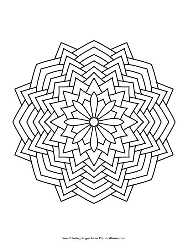 Pin On To Color Mandalas