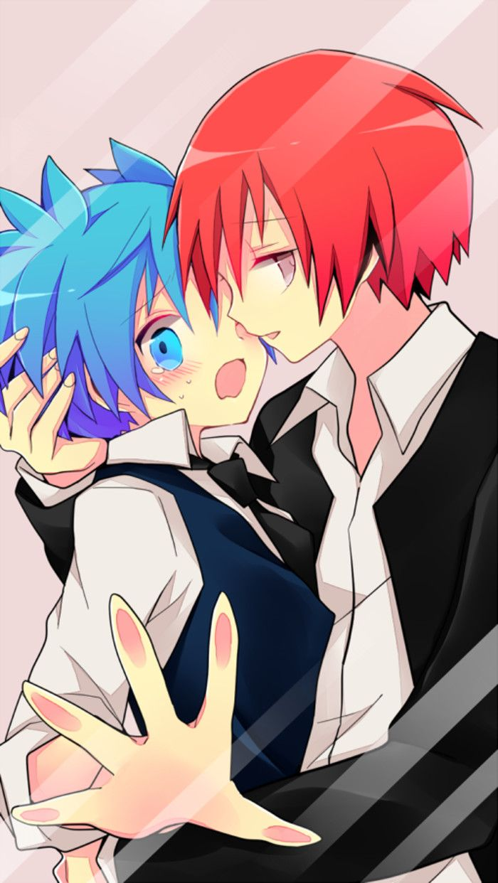 "Á²ã¨ã'Šã'ã'"" Ɲ¥è‡ªå®‰è—¤å¯¿æ¥çš""图片分享 Å†ç³– Nagisa And Karma Anime Anime Background"