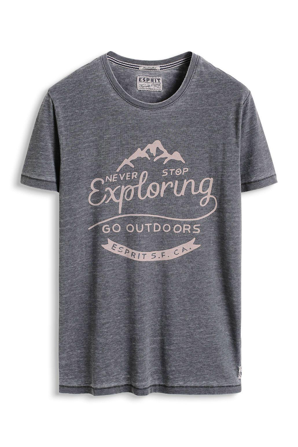 davidemartini.ink for Esprit Jersey T Shirt mit Print