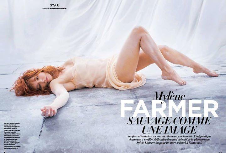 Fragile : Mylène Farmer - UN LIVRE EN IMAGES - Mylène Farmer a posé pour Sylvie Lancrenon. Ensemble, elles ont réalisé une série de photographies où le corps de la chanteuse est mélangé à l'argile.