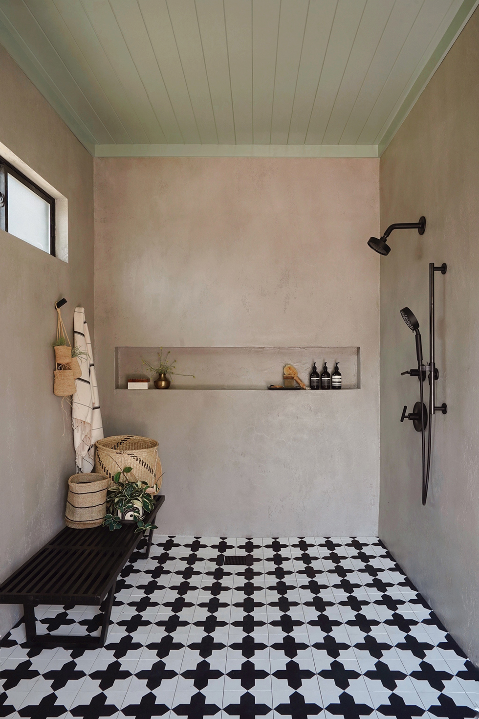 pool house shower with behr color trends 2021 palette on country farmhouse exterior paint colors 2021 id=19538