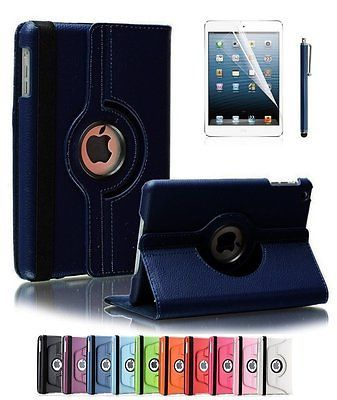 360 Degrees Rotating Stand PU Leather Case for Apple iPad 234  (Dark Blue) https://t.co/ziX3txHA0m https://t.co/CnSWhE2s4V