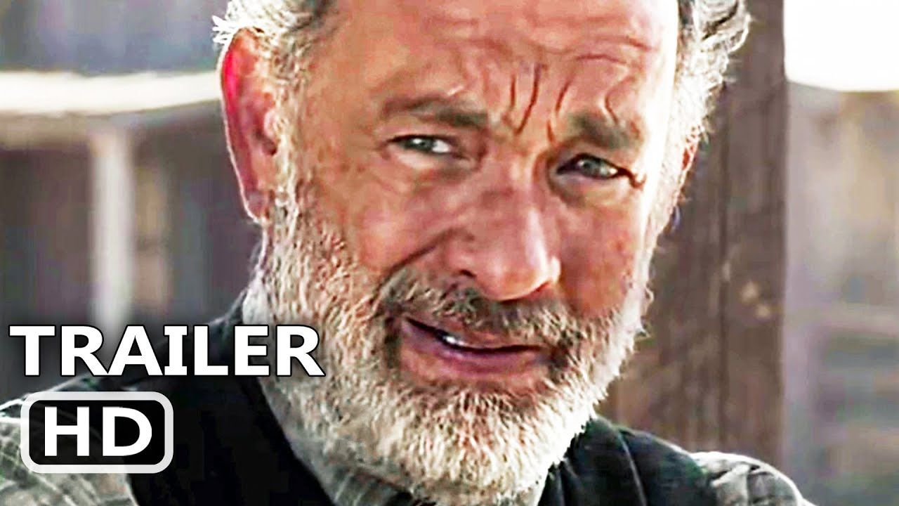 News Of The World Official Trailer 2020 Tom Hanks Western Movie Hd Tom Hanks Tom Hanks Movies World Movies