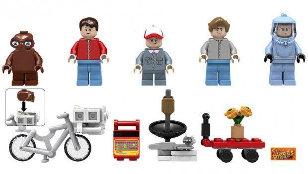 Make Your Own Alien Story With E.T. LEGO Set | Lego | Pinterest | Lego