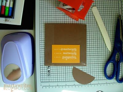What fun to make the CD sleeves - (Wedding Favors) from scratch!