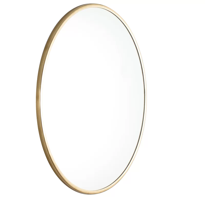 Charlton Home Dycus Accent Mirror Reviews Wayfair Oval Wall Mirror Mirror Wall Framed Mirror Wall