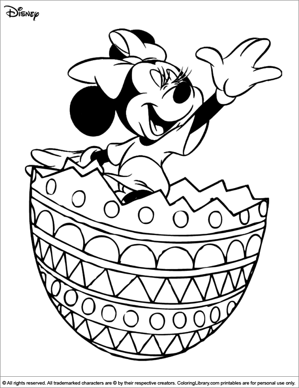 Easter Disney Coloring Book Sheet Easter Coloring Pages Printable Mickey Mouse Coloring Pages Easter Coloring Pages