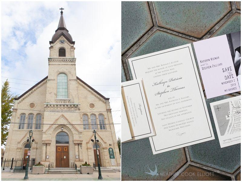 St. Hedwig's Church Milwaukee | Heather Cook Elliott Photography st hedwig wedding photography_113