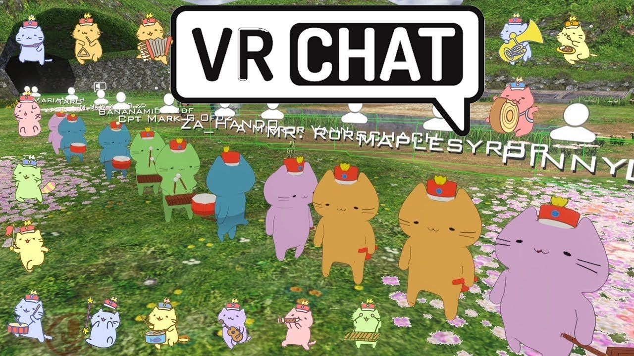 Vrchat Cat Parade Youtube Cute Cat Cats Cute