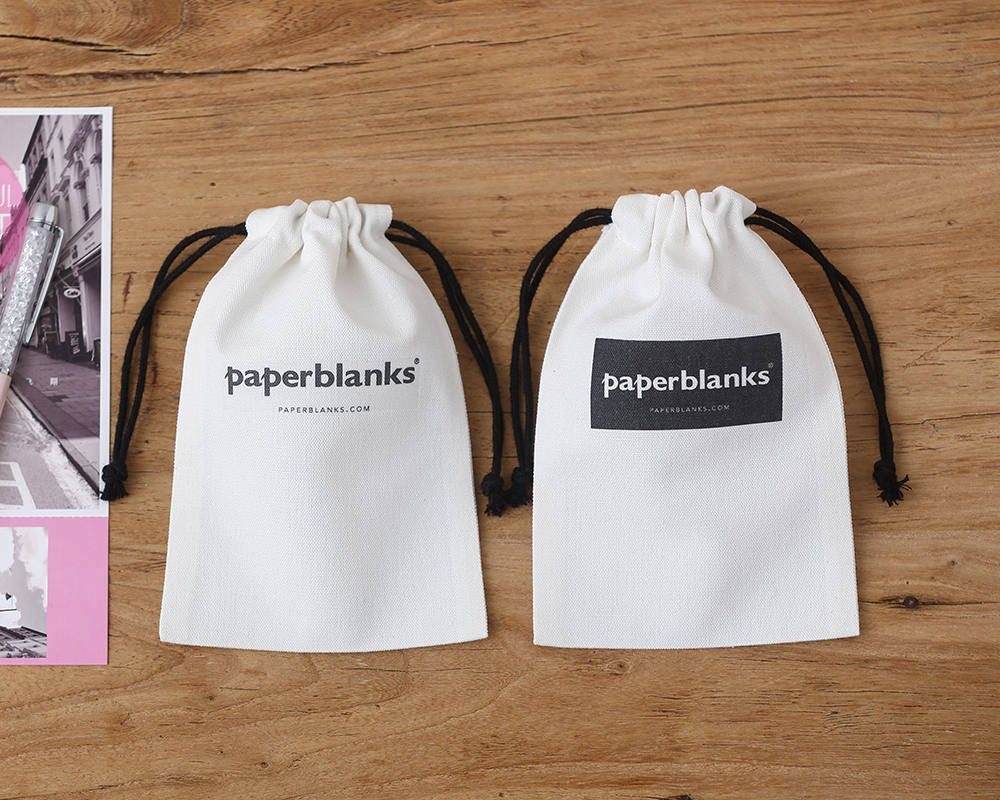set of 50 personalized LOGO printed Custom white bag