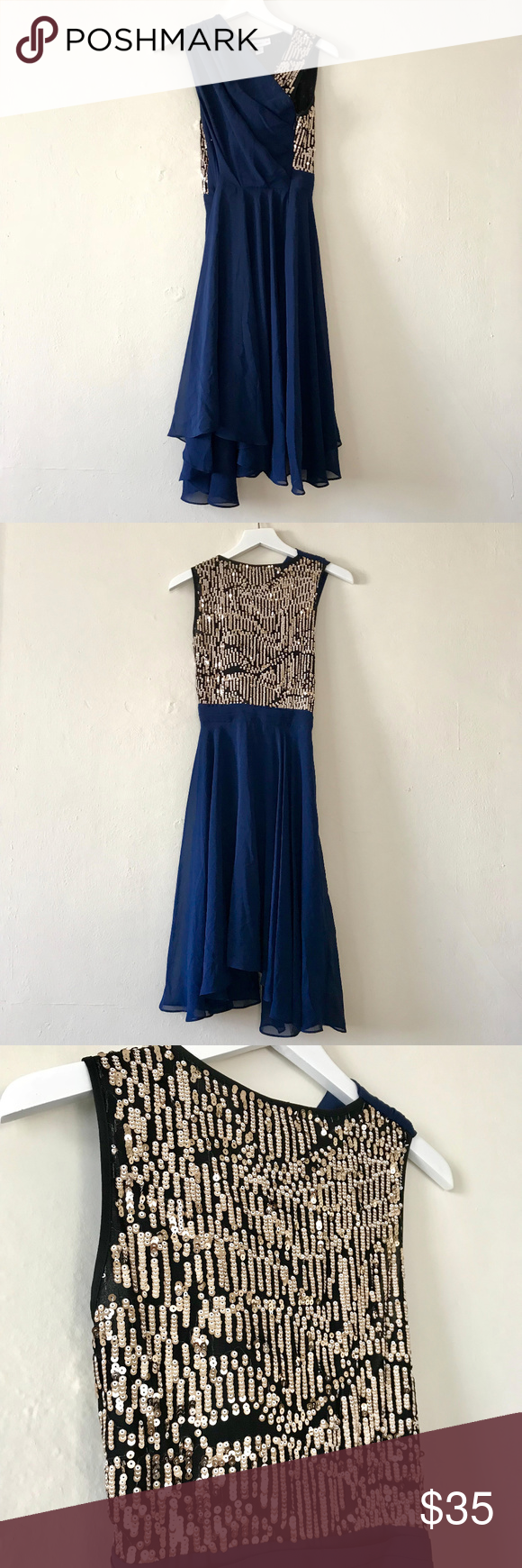 e1f42ebf 3.1 Phillip Lim for Target Navy Sequin Dress 3.1 Phillip Lim for Target  Collaboration Sequin Dress in Navy. Worn once for a wedding.