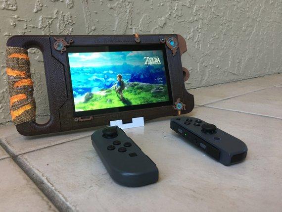 Nintendo Switch Sheikah Slate Case 3D Print Breath of the