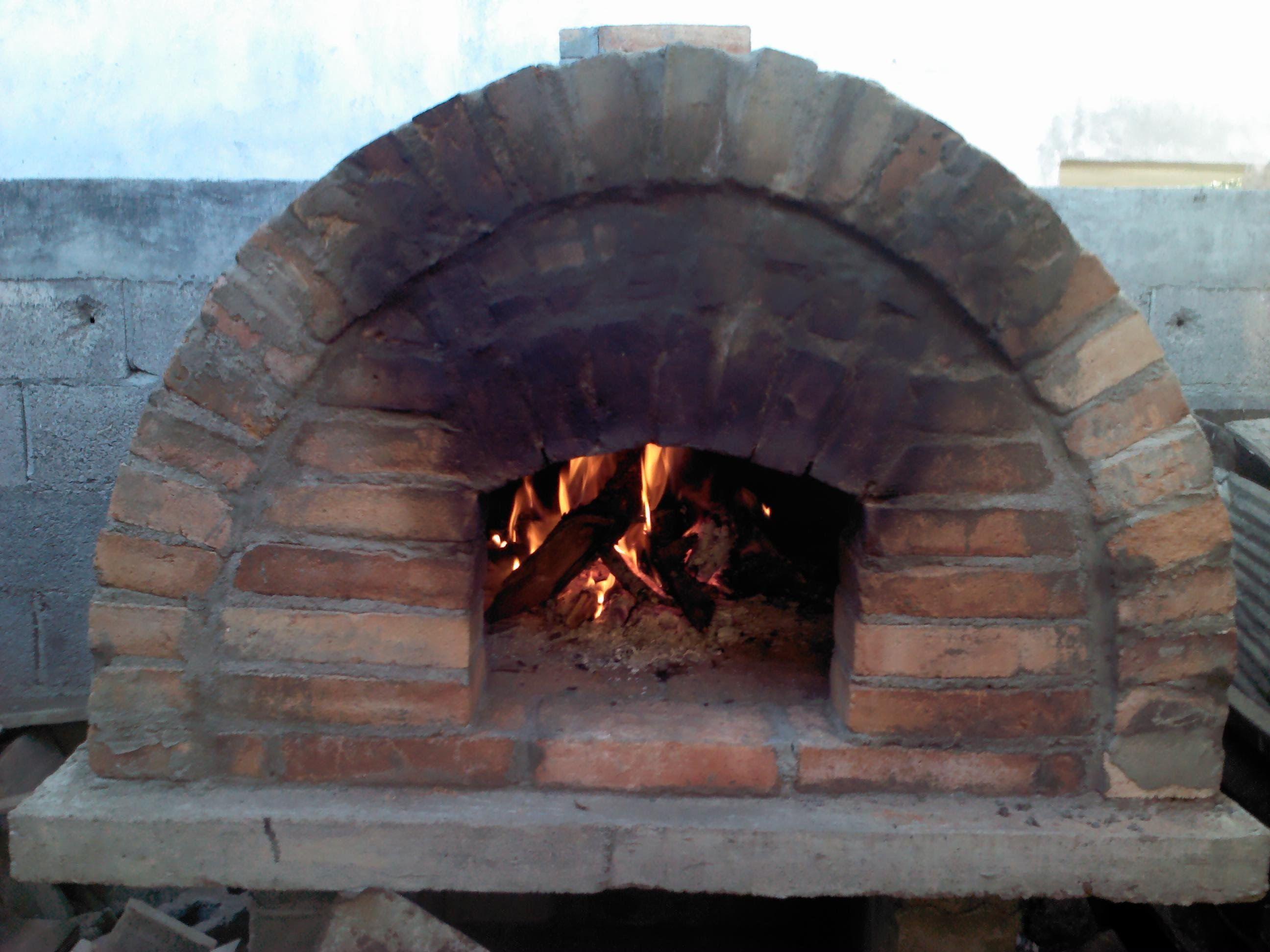 Como hacer un panadero y o horno de le a amoxtlatiloyan - Horno de piedra casero ...