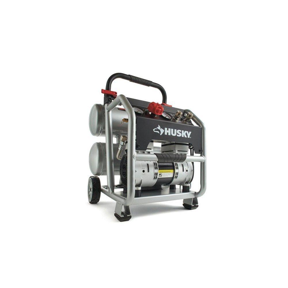 Silent 4.5 Gallon Portable Electric Air