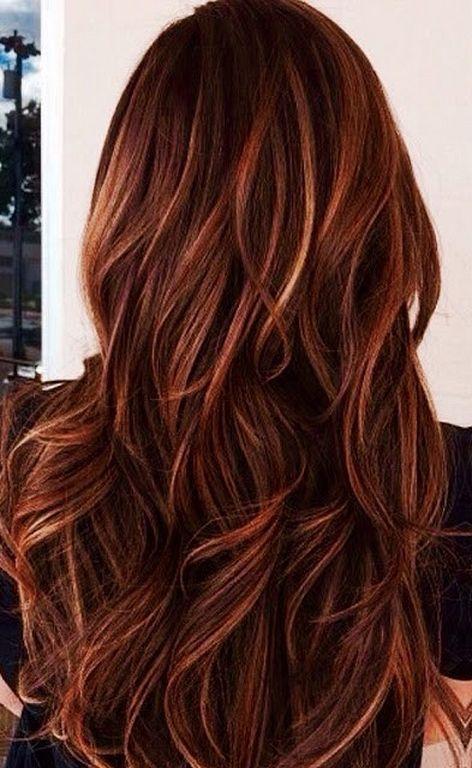 Colors Fall Hair Highlights 33 Fall Hair Highlights And Hair Style