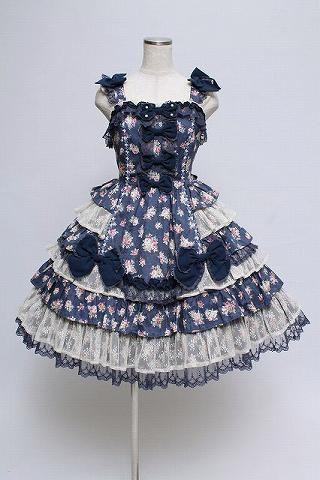Angelic Pretty ファンシーローズジャンパースカート_画像1
