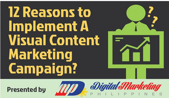 12 raisons d'intégrer du contenu visuel dans vos campagnes marketing