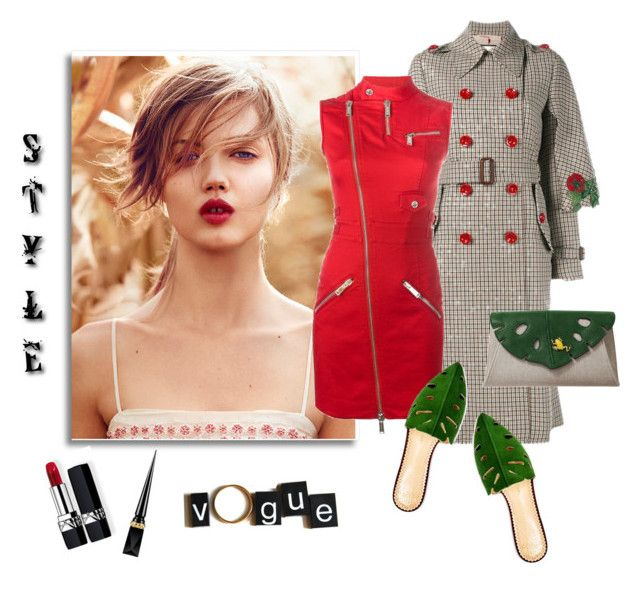 """""""Make today count you'll never get it back"""" by curlysuebabydoll ❤ liked on Polyvore featuring Dsquared2, Charlotte Olympia, Christian Louboutin and Christian Dior"""