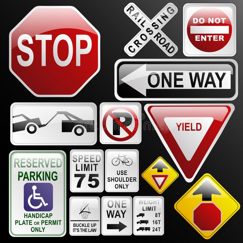 Glossy Glassy Road Signs Make Your Own Glossy Glassy Web 2 0 Warning Danger Aff Web Glossy Warnin Road Signs Vintage Logo Design Stock Images Free