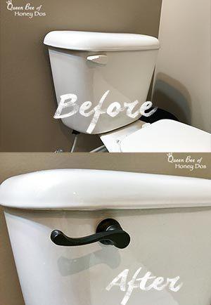 So rüsten Sie den Toilettenspülhebel auf • Queen Bee of Honey Dos - Also ...