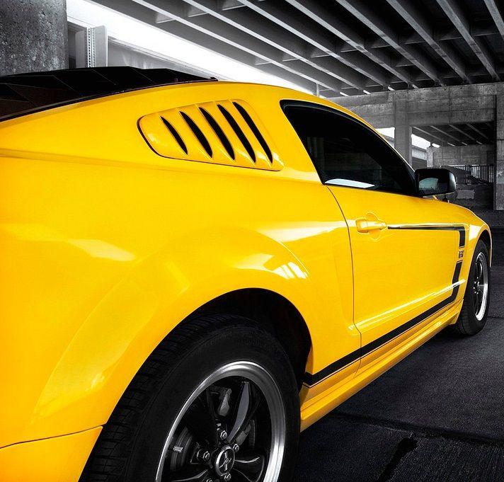 Yellow Mustnag GT #CarFlash