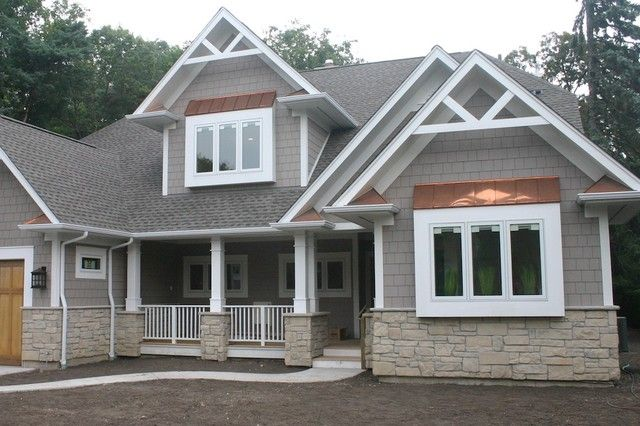 Exterior Stone Siding and Hardie Board traditional exterior | For ...