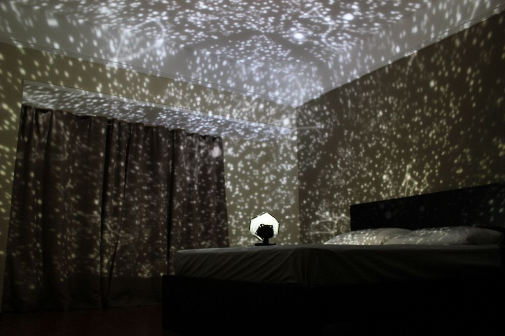 This Star Projector Projects A Map Of The Heavens Onto Your Ceiling And Walls With Thousands